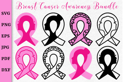 Breast Cancer Awareness SVG Bundle.