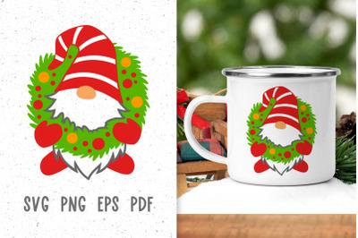 Christmas gnome svg Christmas svg file Christmas sublimation designs