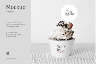 Cupcake Topper Mock Up   Compatible With Affinity Designer