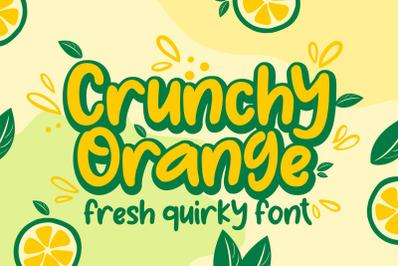 Crunchy Orange