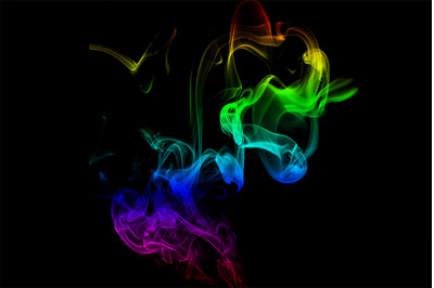 Colorful New Smoke Background