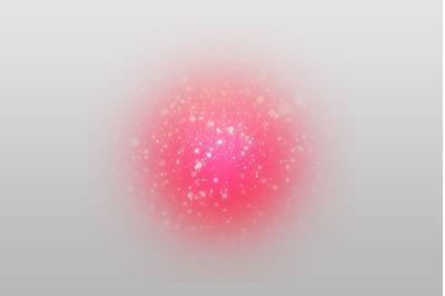 Glitter Red Glow