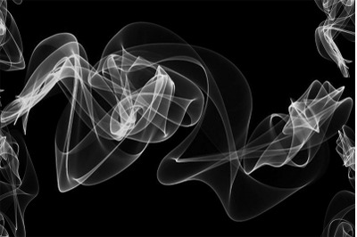 White Smoke Background