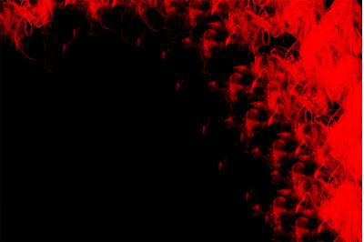 Elegant Red Smoke Background