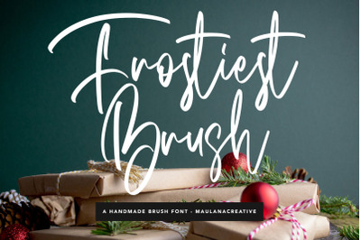 Frostiest Script Modern Brush Font