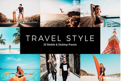 20  Travel Style LR Presets