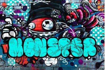 The Bold Street - Bold Graffiti Font