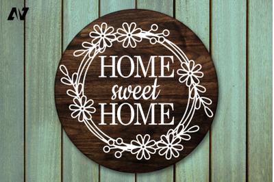 Home Sweet Home Svg, Porch Sign Svg, Sweet Home Svg