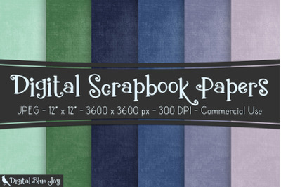 Digital Scrapbook Papers - Grapes
