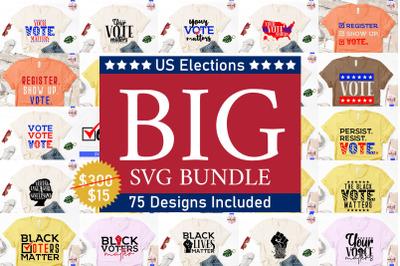US President Elections Mega SVG Bundle - 75 Designs Included