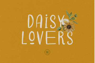 Daisy Lovers - Handwritten Sans
