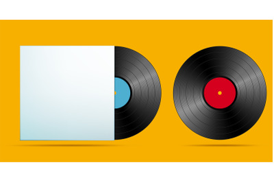 realistic music record