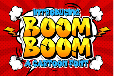 Boom Boom Cartoon Font