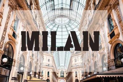 Milan Stencil - Urban City Font