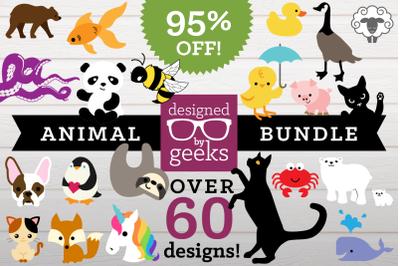 Huge Animal SVG Bundle | SVG | PNG | DXF
