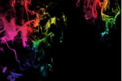 Colorful Smoke Background