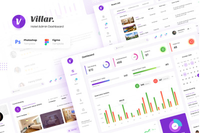 Villar - Hotel Booking Admin Dashboard
