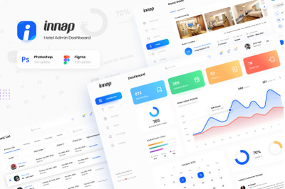 Innap - Hotel Booking Dashboard UI