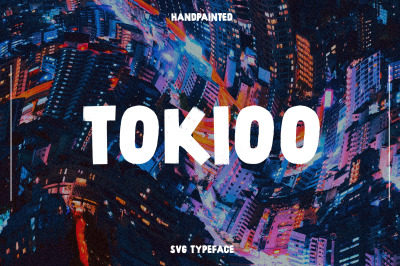Tokioo SVG Typeface