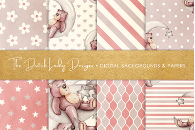 Nursery Bear Seamless Patterns