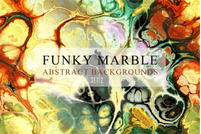 Totally Funky Marble Papers Set 2