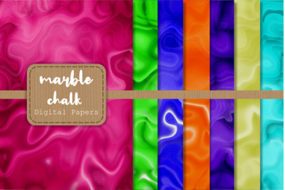 Marbled Chalk Background Papers