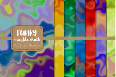 Funky Marble Chalk Background Papers