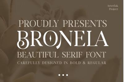 Bronela - Elegant Serif