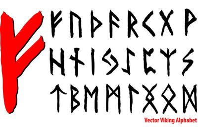 Vrctor Viking Alphabet