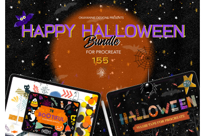 Happy Halloween Procreate Bundle