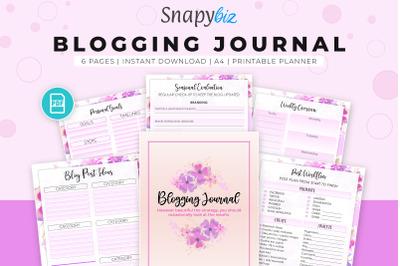 Blogging Journal | Printable