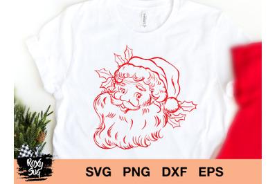 Santa Svg,