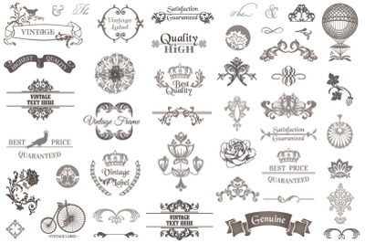Premium Vector Vintage Bundle 01