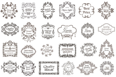 Premium Vector Vintage Bundle 02