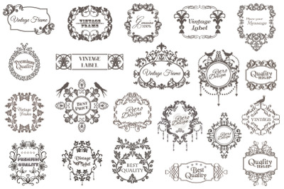 Premium Vector Vintage Bundle 03