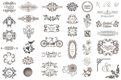 Premium Vector Vintage Bundle 04