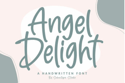 Angel Delight - Handwritten Font