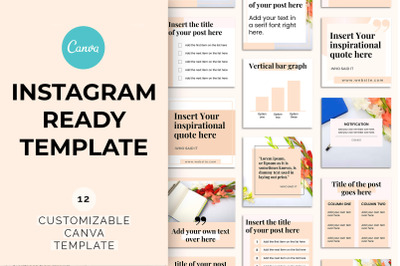 Instagram Ready Canva Template
