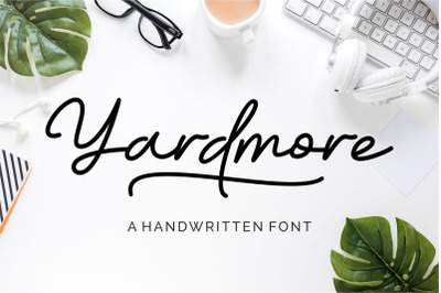 Yardmore - Handwritten Font