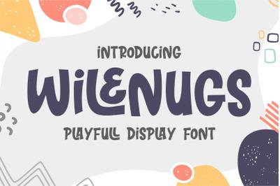 Wilenugs - Playfull Display