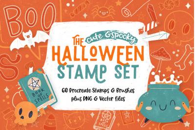 Halloween Stamp Set for Procreate
