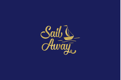 Sail Away SVG cut file