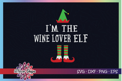 I'm the wine lover ELF Christmas