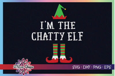 I'm the chatty ELF Christmas