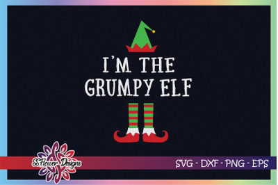 I'm the grumpy ELF Christmas