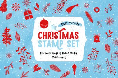 Last Minute Christmas Stamp Set