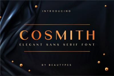 Cosmith | Elegant Sans Serif Font