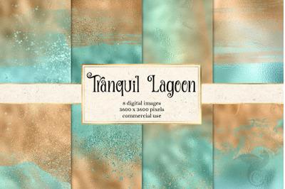 Tranquil Lagoon Digital Paper