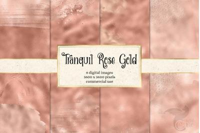 Tranquil Rose Gold Digital Paper
