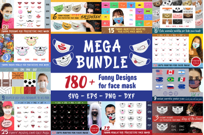 The Mega Face Masks Bundle.